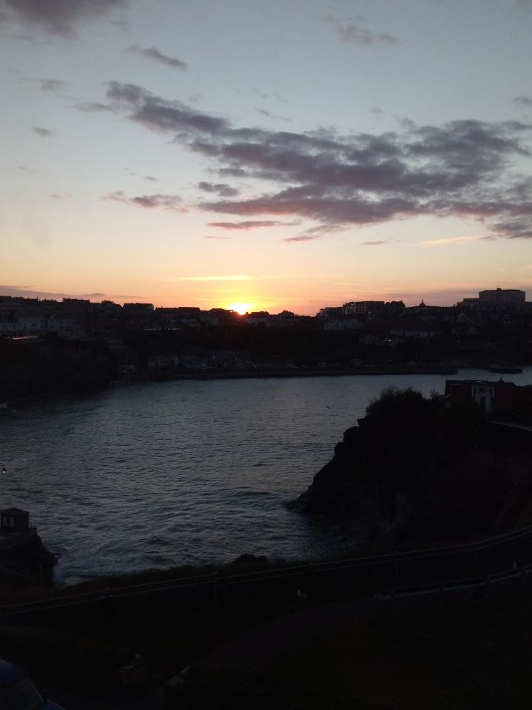 sunset 2 cornwall